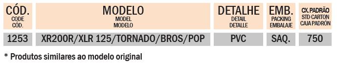 COXIM XR 200R / XLR 125 / TORNADO / BROS / POP
