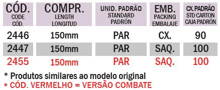 MANOPLA BROS / XRE 300 / TORNADO / FALCON