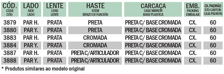 ONIX COM BASE CROMADA