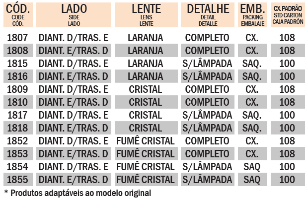 PISCA NXR BROS 150 2013~2014