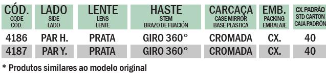 YBR / FAZER COM GIRO 360º